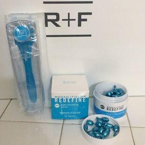 Rodan + Fields Redefine Night Serum & AMP roller